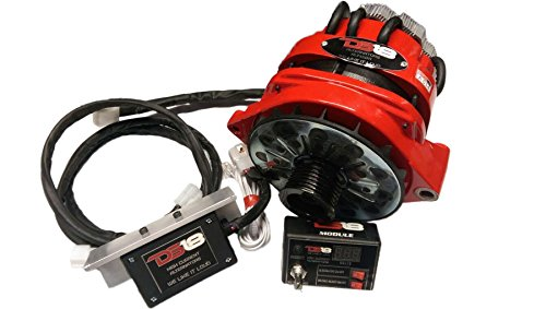DS18 C-ALT450A 450 Amp Chevy Style High Current Output Add-On Alternator (SPL Competition Car Audio)