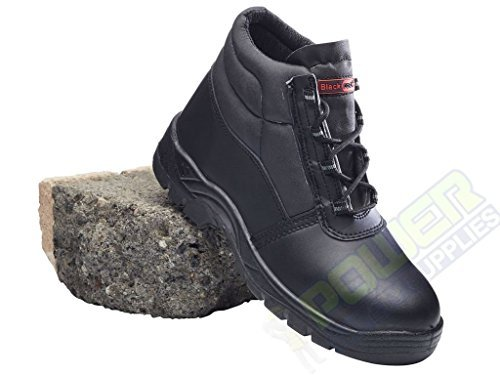 Blackrock Avance Industrial Compuesto Sin Metales Dedo Botas Seguridad Ropa Trabajo - Negro, 36 EU