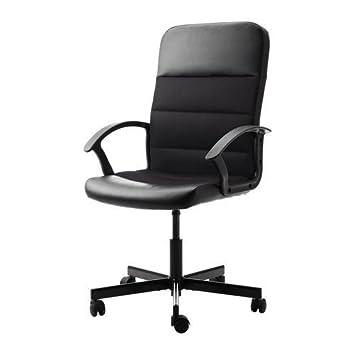 Ikea Fingal Chaise De Bureau Noir Amazon Fr Cuisine Maison