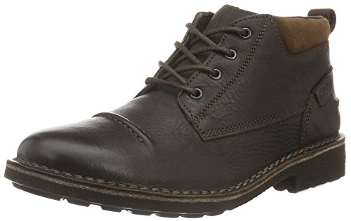 Top Marrone Brown Uomo Lea Wlined Stivaletti Lawes Clarks xIwZz5a