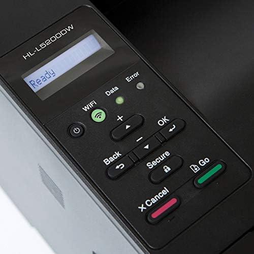 Brother Monochrome Laser Printer, HL-L5200DWT, Duplex Printing, Wireless Networking, Dual Paper Trays, Mobile Printing, Amazon Dash Replenishment Ready 412 2BtPCxSfL