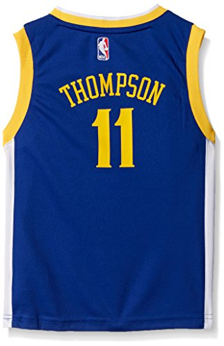 Road Jersey Nba Replica (NBA Golden State Warriors-Thompson Kids Replica Player Jersey-Road, Large(7), Blue)