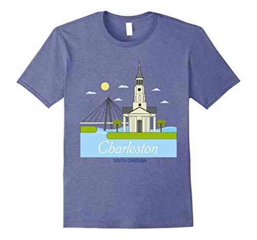 Mens Charleston South Carolina T-Shirt 3XL Heather - Market Charleston In Sc