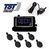 TST 507 6 Sensor Flow Through Tire Monitoring System with Color Display - Handles Multiple Trailers
