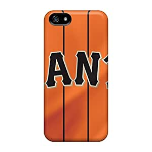 New Style Ggohappycases123 San Francisco Giants Premium Tpu Covers Cases For Iphone 5/5s