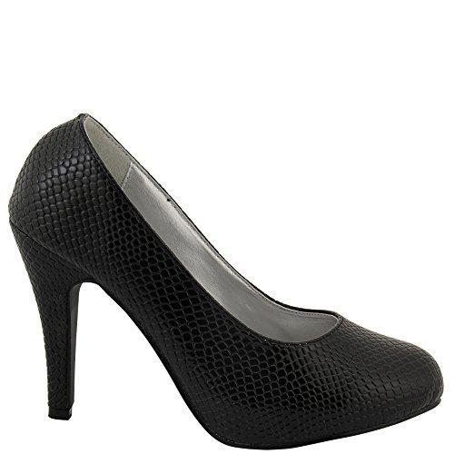 Negro mujer para Sintético vestir Zapatos Material Paris de de Rasalle negro nZwTqBafp