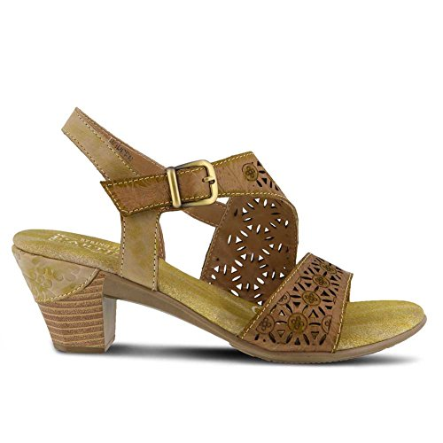 Women's Beige Style Sandal Step Spring Leather Noreen L'ARTISTE by qPSpZt