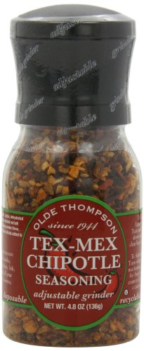 Olde Thompson Tex-Mex Chipotle Seasoning, 4.8-Ounce Grinders (Pack of 2) by Olde Thompson
