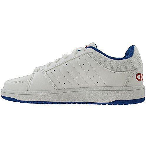 Adidas - Hoops VS K - F98541 - Couleur: Blanc-Bleu-Rouge - Pointure: 32.0