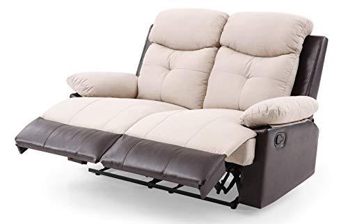 Glory Furniture Stadium G883-RL Reclining Loveseat, Beige. Living Room Furniture 40