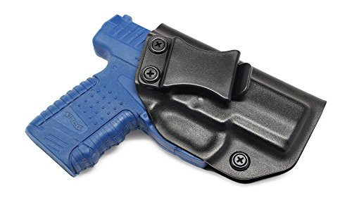 (Concealment Express IWB KYDEX Holster: fits Walther PPS - Custom Fit - US Made - Inside Waistband - Adj. Cant/Retention (BLK, Right) )