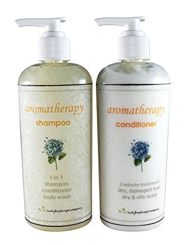 Aromathérapie thérapie anti-dépresseur Shampooing conditionneur & Combo - 8 oz shampooing + on 8 oz
