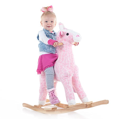Happy Trails Plush Rocking Penny The Pink ()