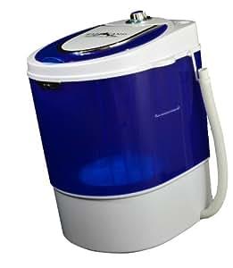 Basecamp by Mr. Heater Single Tub Washing Machine (White/Blue)
