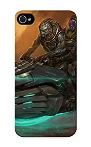 Fashionable Style Case Cover Skin Series For Iphone 5/5s- Talizorah And Garrus Vakarian Mass Effect 3