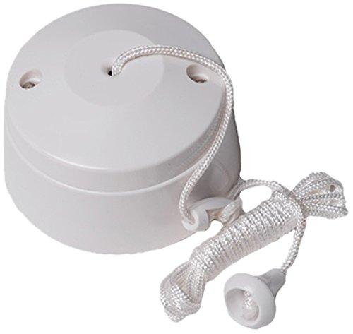 Bulk Hardware Bh02684 2 Way Ceiling Switch Bathroom Pull