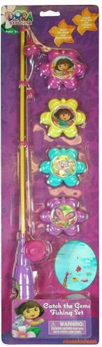 DDI 1471893 Dora Catch The Gems Fishing Game Toy Case Of 12 by DDI