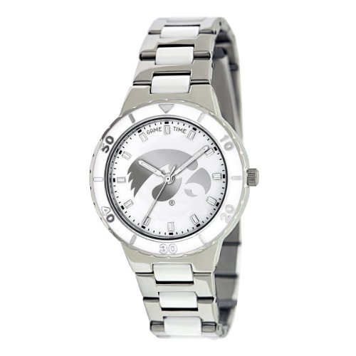 - Game Time Women's Quartz Metal and Stainless Steel Casual Watch, Color:Silver-Toned (Model: COL-Pea-IA)