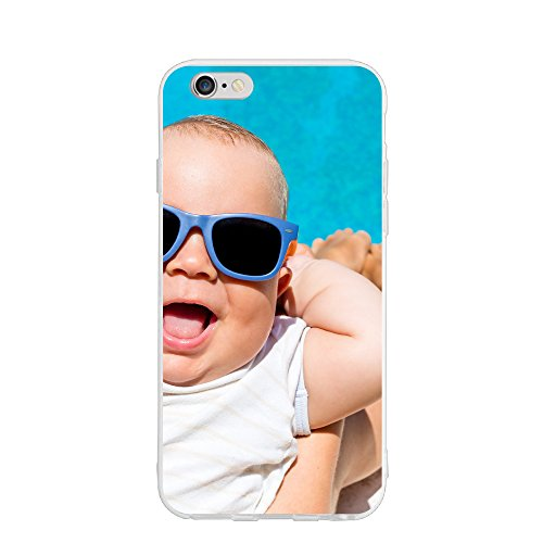 Emily The Baby With Sunglasses Personalized Customized Phone Case Cover For Phone 6/6s Unique DIY Custom Picture Photo Ultra Thin Soft Rubber Silicone - Qatar Sunglasses