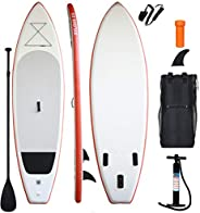 """XYLOVE CO 11'×33""""×6"""" SUP for All Skill Levels Everything Included with Stand U"""