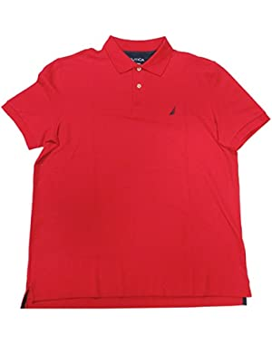 Men's Pullover Shirt, Size Large, Red