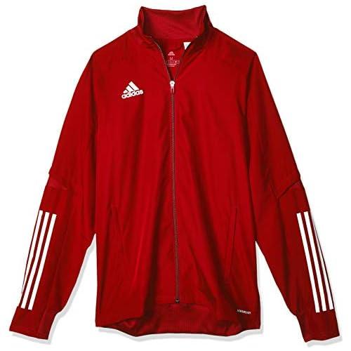 chollos oferta descuentos barato adidas CON20 PRE JKT Sport Jacket Hombre Team Power Red White S