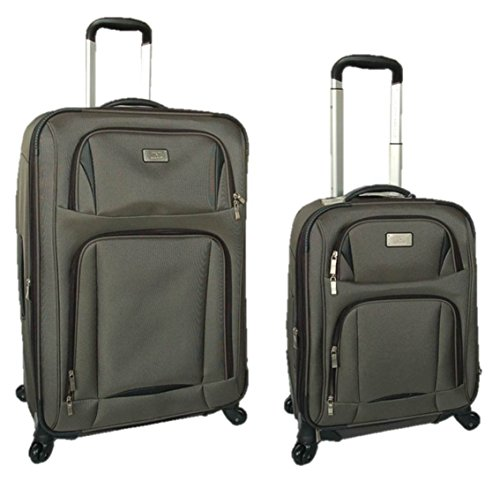 Delsey Luggage Titanium 3-Piece Expandable Hardside Spinner Luggage Set Review #2. View on Amazon. This Delsey Paris luggage set is made of % polycarbonate material and includes a large, medium and carry-on bag.