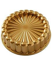 وعاء تشكيل الكعك تشارلوت 83577 من نوردك وير، قياس واحد، ذهبي