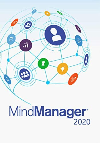 Corel MindManager 2020 | Mind Mapping Software [PC Download] [Old Version]