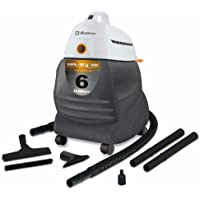 Koblenz WD 650 All Purpose Six Gallon Wet Dry Power Vacuum - Corded