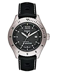 traser H3 Automatic Master Sapphire Watch | Silicone Strap - Black