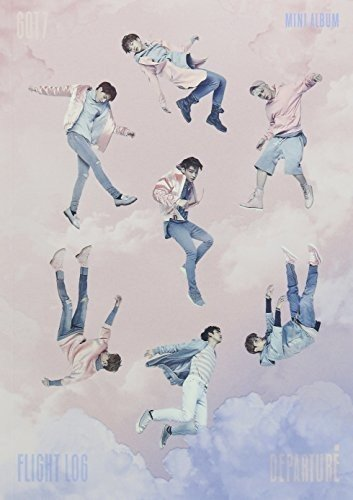 CD : GOT7 - Flight Log: Departure (Pinky Sky Special Edition) (Hong Kong - Import, 2 Disc)