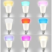 270 Degree illumination E26 E27 9W ZigBee Smart Bulb Compatible With Hue bridge1.0 and 2.0 by Wireless Hue APP Control Directly
