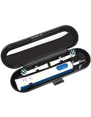 Elektrische tandenborstel reiskoffer voor Orale B & Philips Sonicare, Zwart