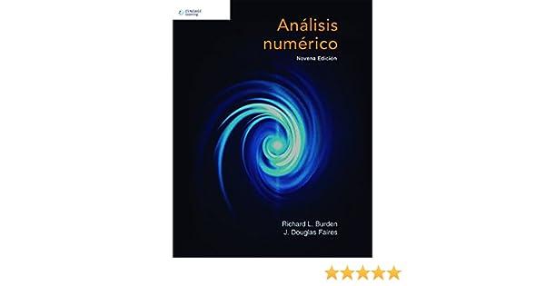 libro analisis numerico burden faires