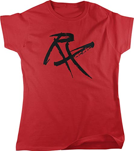Hoodteez RX Workout Prescription Women's T-Shirt, L Red