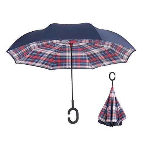 Inverted Umbrella Windproof Protection Straight
