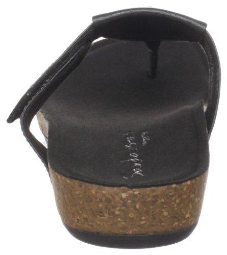 Sandalo Emily Nero Perizoma Donna Aetrex