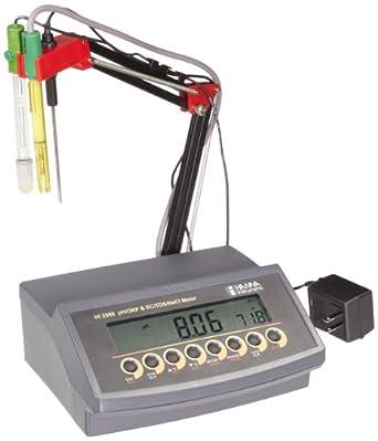 Hanna Instruments HI 2550 pH/ORP/EC/TDS/NaCl Benchtop Meter