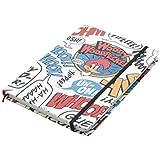 Caderneta de Anotação Pica-Pau Onomatopeias Urban Colorido Papel