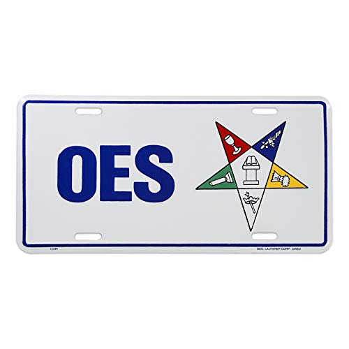 - Order of The Eastern Star Masonic License Plate