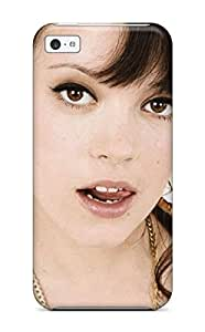 For Iphone Case, High Quality Lily Allen Dots Dress 5 British Singer Brunette Dark Hair People Women For Iphone 5c Cover Cases