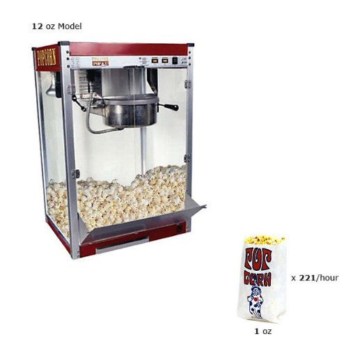 Paragon Theater Pop 16 Ounce Popcorn Machine for Professional Concessionaires Requiring Commercial Quality High Output Popcorn Equipment by Paragon - Manufactured Fun