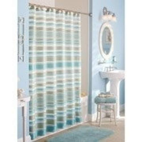 Classic Stripe Fabric Shower Curtain from Better Homes & Gardens