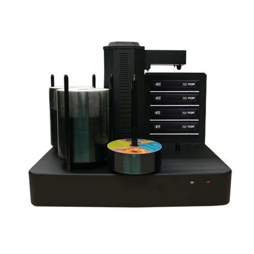 Cronus Automatic DVD CD Disc Ripping Station Data Archival System with Built-in PC (Blu-ray + 4 Burner (500 Disc Capacity))