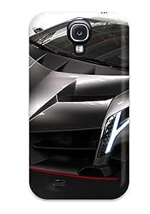 Vicky C. Parker's Shop 3370639K86209378 Galaxy S4 Hard Back With Bumper Silicone Gel Tpu Case Cover Lamborghini Veneno