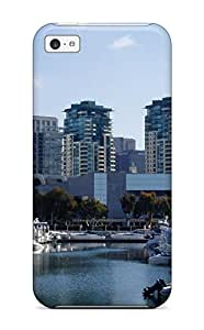 Awesome Design San Diego City Hard Case Cover For Iphone 5c Sending Free Screen Protector