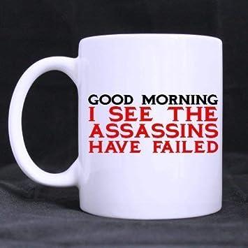 Divertente E Umoristico Buongiorno Tazza Da Caffè In