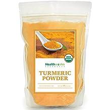 Healthworks Turmeric Root Powder (Curcumin) Organic, 1lb