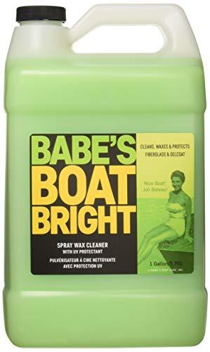 BABE'S BB7001 Boat Bright Spray Wax Cleaner - Gallon
